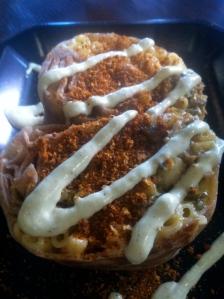 CASA Mac and Cheese Burrito