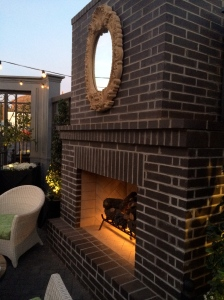 Fireplace at The Henry