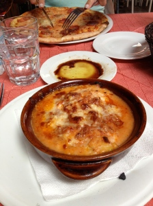 Lasagna in Florence