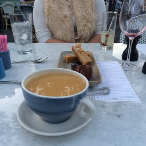 Peanut Butter Bars and Coffee at The Henry